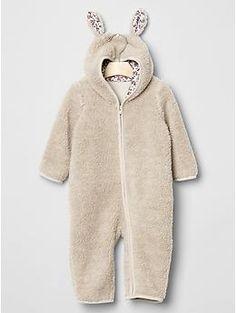 gap sherpa bunny suit